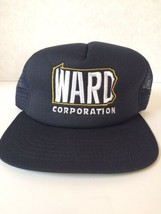 Vintage Blue WARD CORPORATION Snapback Truckers Hat Cap - $28.00