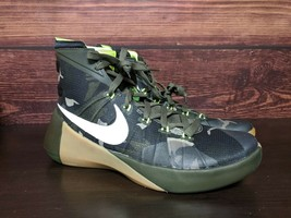 New Nike Hyperdunk 2015 PRM Cargo Khaki Camo basketball shoes Men 9 (749... - $98.99