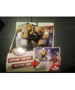 Mattel Power Slam WWE 2012 STEAM ROLLING BRODUS CLAY - $6.85