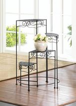 4 Tier Black Metal Plant Stand - $60.43