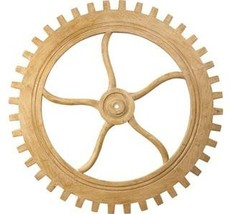 Wall Hanging Artwork FRENCH HERITAGE MAISON Cog Wooden - $1,349.00