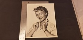Marcia Henderson Actress 8X10 B&W Press Photo For Dear Phoebe TV Show 1954 - $19.32