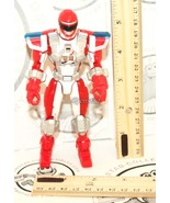 "POWER RED RANGERS OPERATION OVERDRIVE MISSION RESPONSE 5.5"" TOY FIGURE 2006 - $4.88"