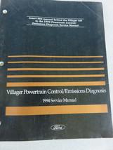 1994 Mercury Villager Powertrain Emission Service Manual OEM Factory Dea... - $2.88