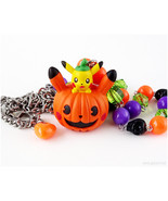 Pikachu Halloween Necklace, Pikachu Necklace, Pokemon Jewelry, Pokemon G... - $30.00