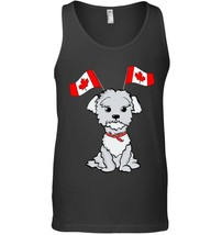 Canada National Flag Funny Maltese Lover Tank Top - $23.99+