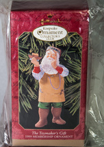 Hallmark Keepsake Membership Ornament 1999 The Toymaker's Gift Ark NIB - $5.00