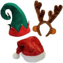 Funny Party Hats Christmas Hats - Santa Hat, Elf Hat, Coil Santa Hat - €19,76 EUR