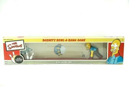 The Simpsons Barneys Bowl A Rama Game Tin Action Toy by Rocket 2002 Coll... - $59.26