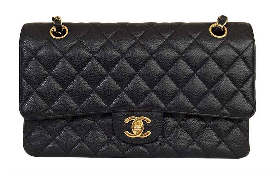 2477ab1a1fb9 Authentic Large Chanel Classic Handbag Black and 50 similar items