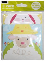 GIFT CARD IMPRESSIONS* 3pc CARD HOLDERS Lamb+Chick+Bunny EASTER BASKET F... - $3.27