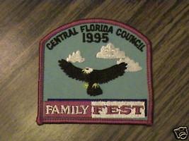 Central Fl.Council 1995 Family Fest,Collect,B.S.A.Patch - $14.25