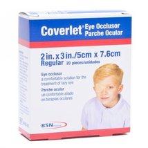 "BSN-JOBST 2"" X 3"" Coverlet Fabric Eye Occlusor Adhesive Bandage (20 Per Box) - $8.99"