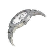 Burberry Mens Large Check Silver Dial Stainless Steel Quartz Watch BU9000 image 3