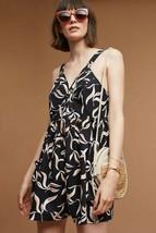 New Anthropologie Palma Romper by Hei Hei Retail $118 SMALL Black Motif - $41.58