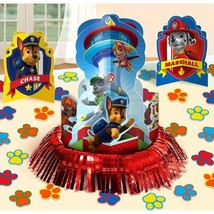 Paw Patrol Table Decoration Kit 3 Ct Centerpieces Party Chase Marshall - $8.35