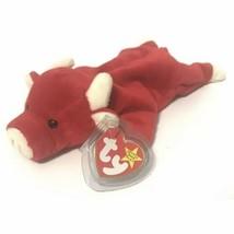 TY Beanie Baby Snort The Bull 1995 Basketball Chicago Bulls Mascot - $4.88