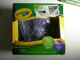 Set of 2 Crayola Draw & Grow Complete Flower Pot Kit Kid Craft Purple & ... - $20.78