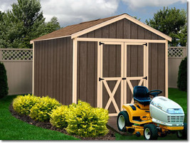 Best Barns Danbury 8x12 Wood Storage Shed Kit - ALL Pre-Cut - $1,679.67