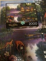 Buffalo Games Jigsaw Puzzle 2000 Pieces CABIN FEVER 38.5 x 26.5 In with Poster image 4