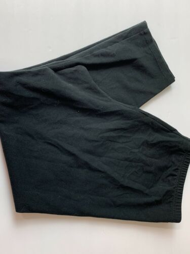 Primary image for J Jill Capris leggings Black Pull On Elastic Waist Size Medium crop (2)