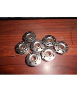 Seven Necchi 544 Zig Zag Metal Bobbins Used Working - $8.00