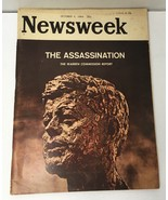 Newsweek Magazine October 5 1964 The Assassination The Warren Commission... - $15.67