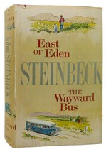 John Steinbeck EAST OF EDEN AND THE WAYWARD BUS Book Club Edition - $35.00