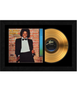 """""""Off the Wall"""" by Michael Jackson 17x26 Framed 24kt Gold Album with Albu... - $198.95"""