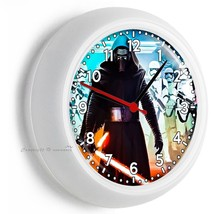 Star Wars Kylo Ren First Order Stormtroopers Wall Clock Boys Room Man Cave Decor - $21.05