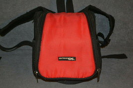Nintendo DS: Red Mini Backpack System Carrying Case - $8.00