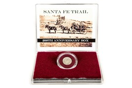 Santa Fee Trail 200th Anniv Boxed Set With Story And Silver Half Reales ... - $46.05