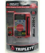 Triplett - 2030-C - Pocket Digital Multimete - $44.50