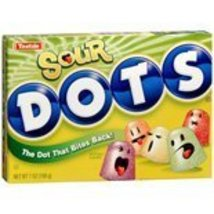 Tootsie Sour Dots Gumdrops Candy, 7 oz (Pack of 12) - $34.36