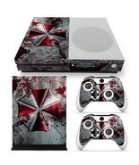 Xbox One S Umbrella Console & 2 Controllers Decal Vinyl Skin Art Wrap St... - $14.82