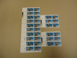 USPS Scott 2220-23 22c Polar Artic Explorers Lot of 3 Plate Block 32 Stamps - $20.24