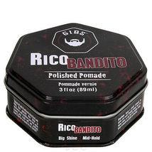 GIBS Grooming Rico Bandito Polished Pomade, 3oz
