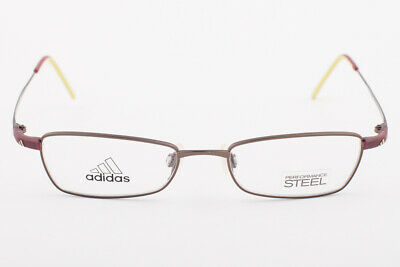 Adidas A955 40 6071 Ambition Burgundy Eyeglasses 955 406071 48mm image 2