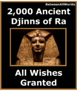 zblv spr 2,000 Djinns Of Ra The SunGod All Wishes Granted Betwenallworld... - $179.31