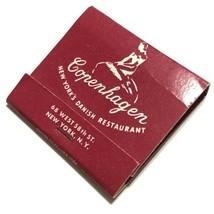Copenhagen NYC New York's Danish Restaurant Match Book with Matches - $6.95