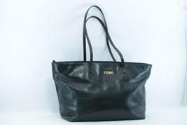 FENDI Leather Tote Bag Black Auth sa1837 - $350.00