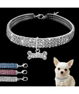 PetArtist® Bling Rhinestone Dog Collar Crystal Puppy Chihuahua Pet Dog - $6.23+