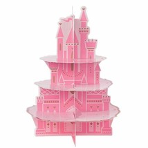 "amscan 372357 Disney Princess Pink Castle Party Decoration Treat Stand, 17.5"" x  - $28.66"