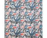 Throw Blanket | Flamingos and Zebras | 180x220 cm - €45,21 EUR