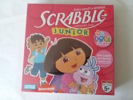 New 2007 Dora the Explorer Parker Brothers Scrabble Junior Age 5+ - $15.58