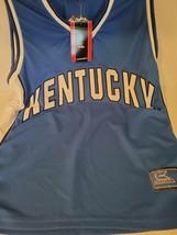 Kentucky Wildcats Jersey XL NCAA University Basketball Blue Colosseum Ta... - $23.76