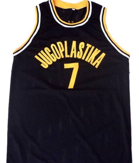 Toni kucok  7 jugoplastika yugoslavia men basketball jersey black 1
