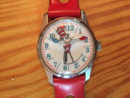 Dr. Seuss The Cat In The Hat Time Teller Wristwatch - $5.00