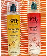 2 Free Lovely Bodycology COCONUT & ROSE + HONEY ALMOND & VANILLA Refresh... - $20.78