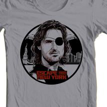 M new york snake plissken john carpenter reto sci fi movie t shirt gray online for sale thumb200